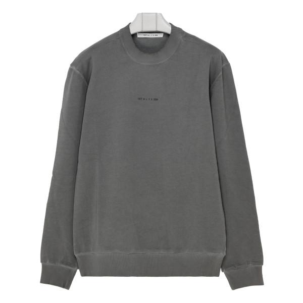 Gray cotton sweatshirt