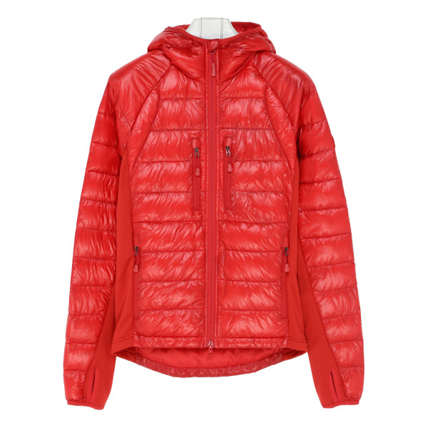 Red Hybridge Lite hooded jacket