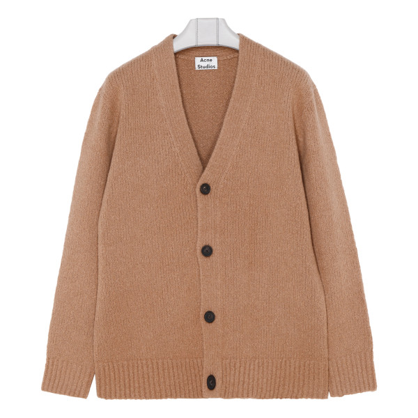 Light brown relaxed cardigan