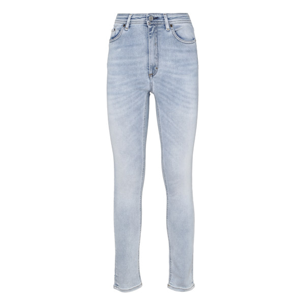Ligth blue High-rise skinny jeans