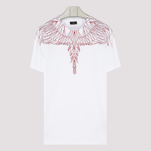Red wings white T-shirt