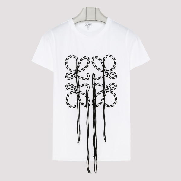 White anagram logo T-shirt