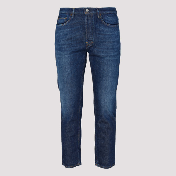 River blue tapered jeans