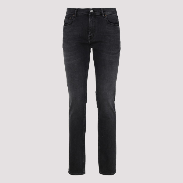 North black denim jeans
