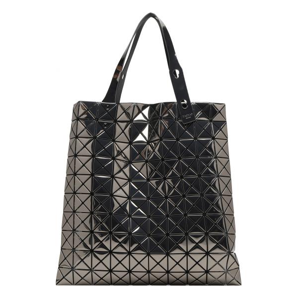 Platinum small tote bag in gunmetal