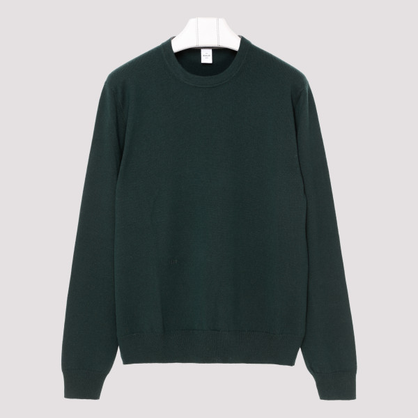 Bottle green cashmere sweater