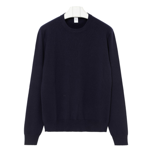 Blue cashmere-blend sweater