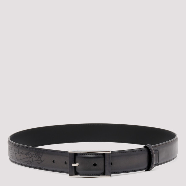 Dual Scritto leather belt