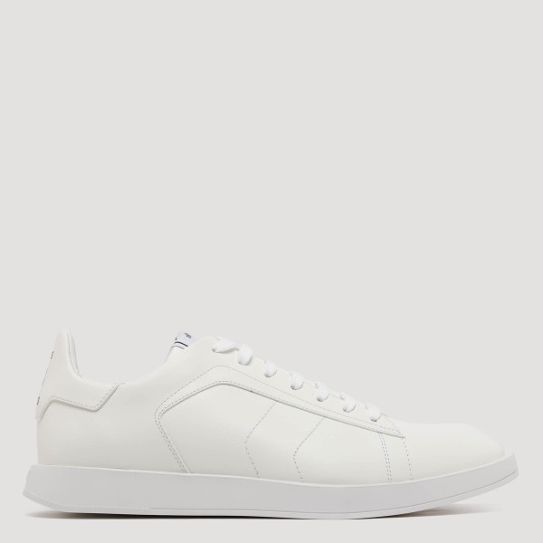 Stellar white leather sneakers