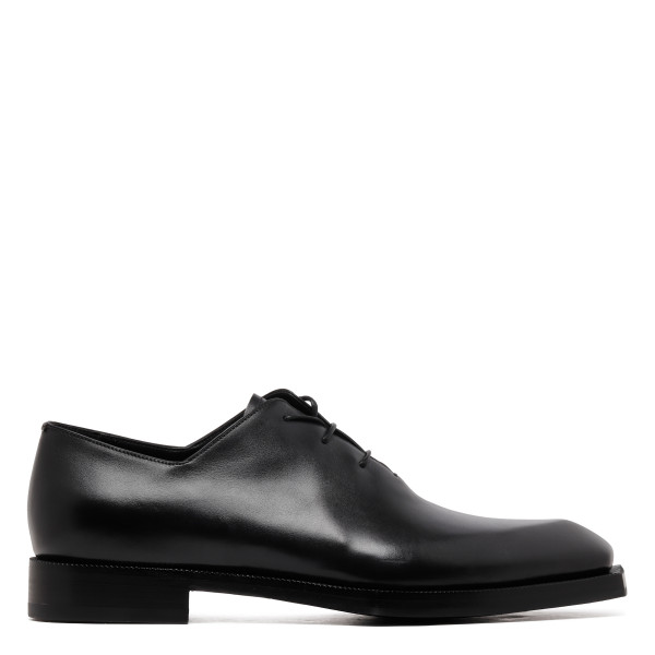 Alessandro black leather Oxford shoes