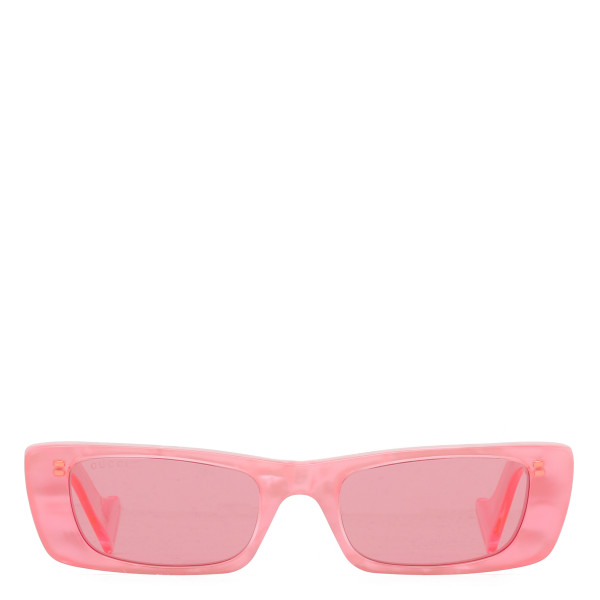Pink Rectangular sunglasses
