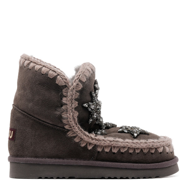Eskimo 18 booties with crystal stars