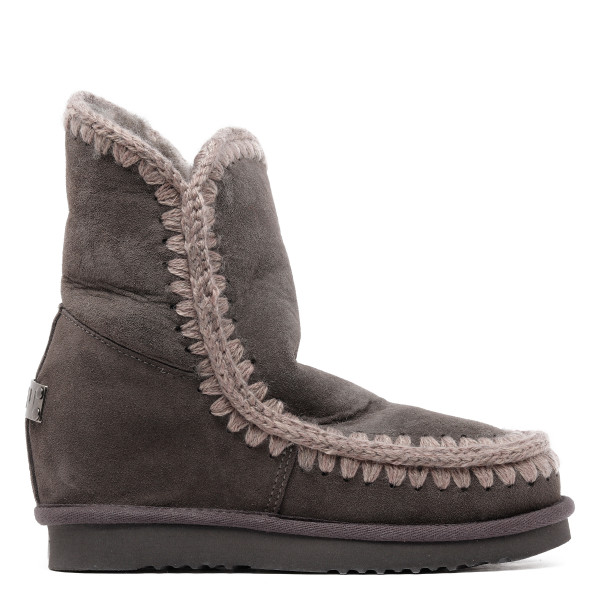 Gray Eskimo 18 booties