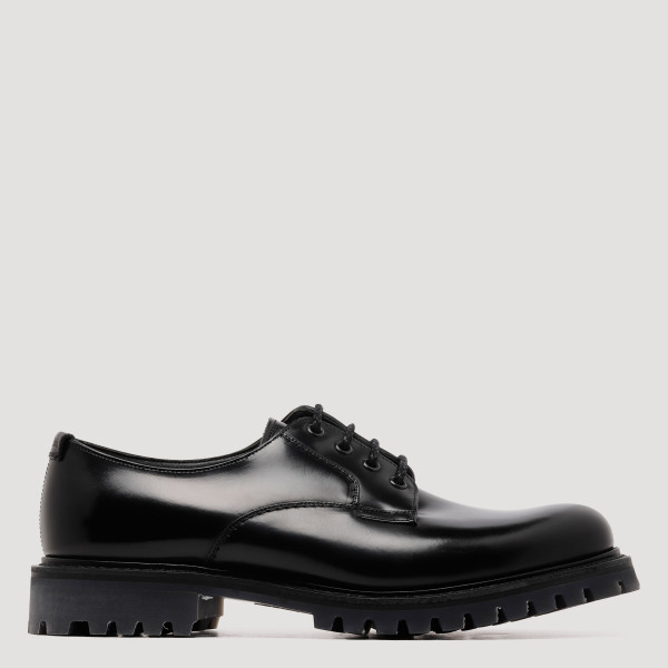 Black Derby Chester lace-up...