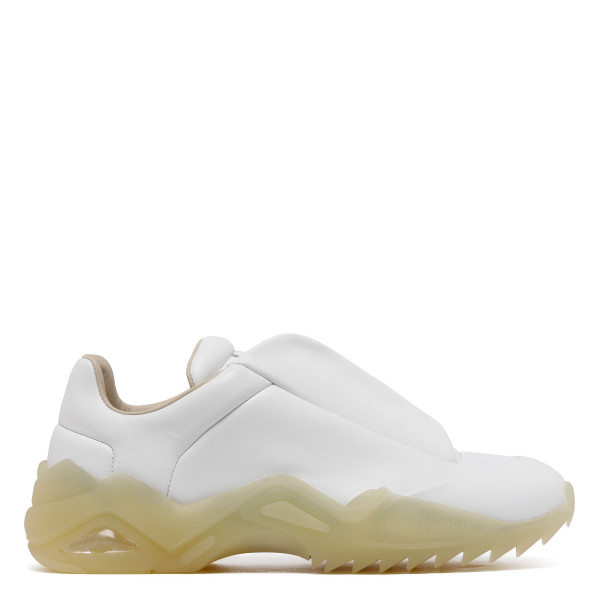 White Future Low Top Sneakers