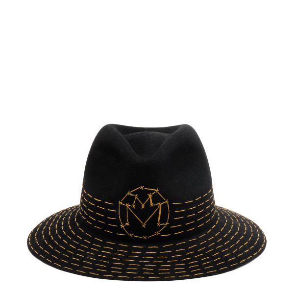 Black Rico Fedora hat