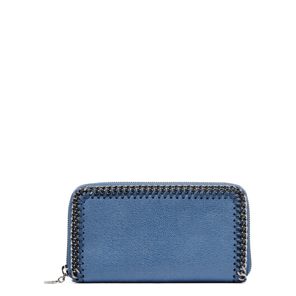 Blue Falabella continental wallet
