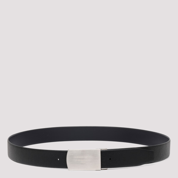 Black reversible belt with...