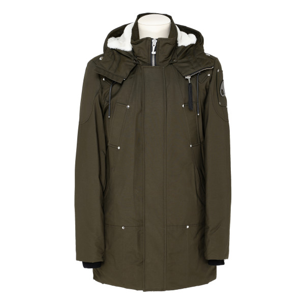 Military green Saintulric parka jacket