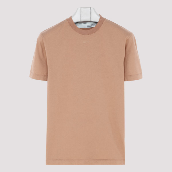 Nude arrows printed T-shirt