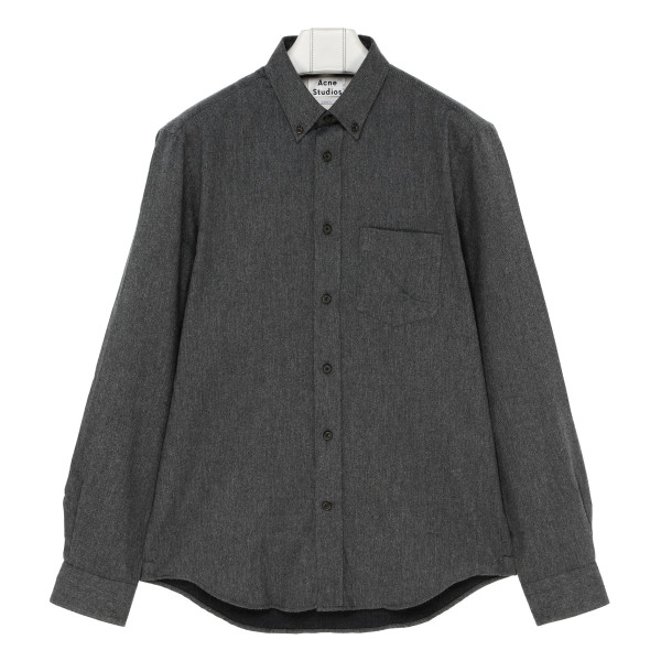 Gray Classic fit shirt