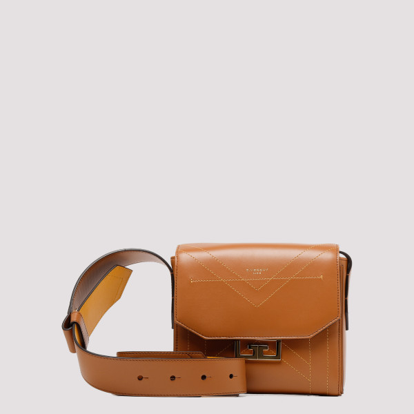 Eden caramel leather small bag