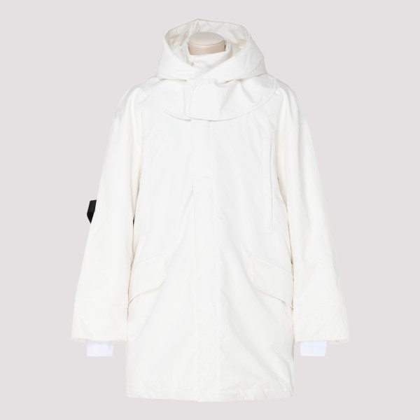 White Oversized padded...