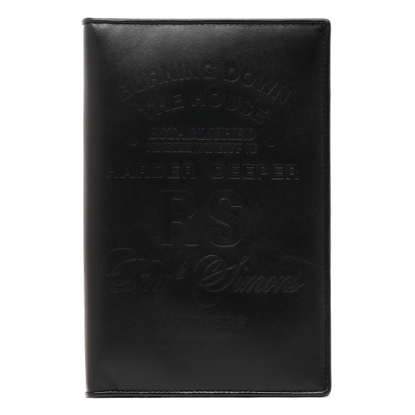 Black zip-up cardholder