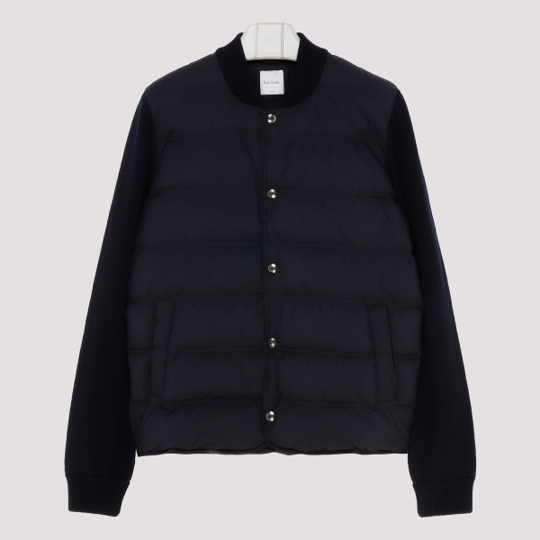 Navy Padded wool and shell...