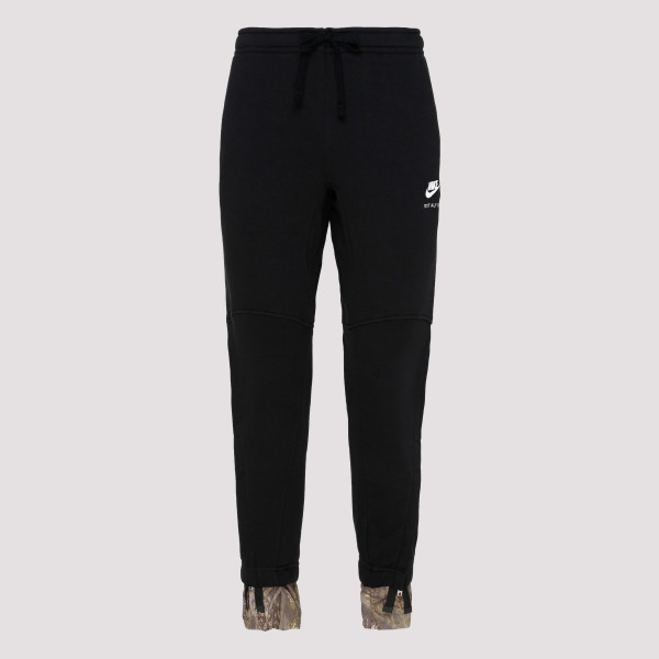 Black cotton pants with...