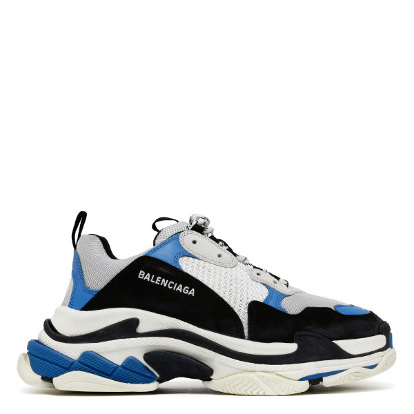 Triple S blue and black sneakers