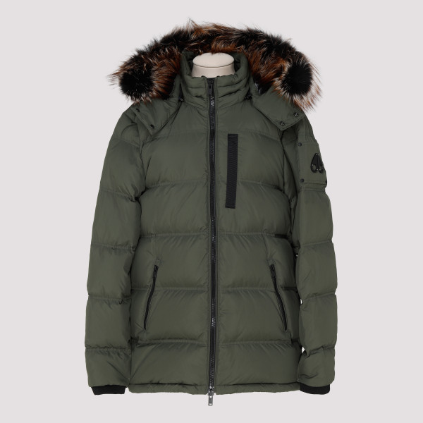 Army green down jacket