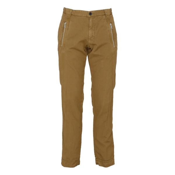 Camel canvas pants