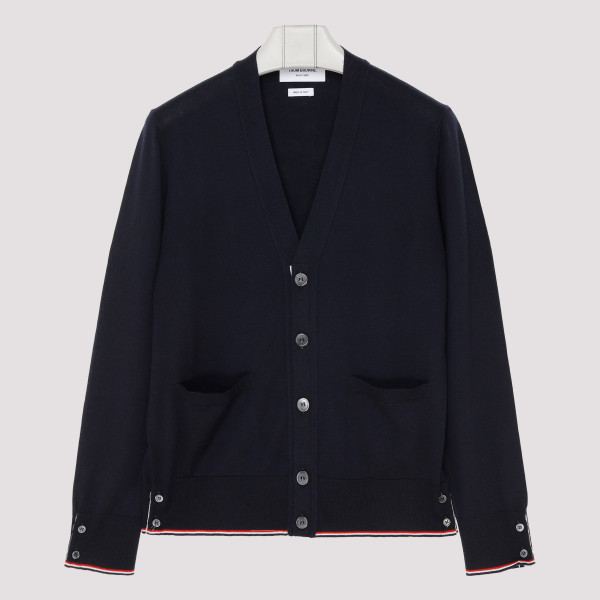 Navy blue cashmere Classic...