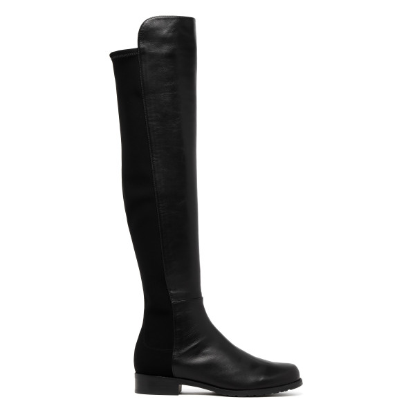 Black over-the-knee 5050 boots
