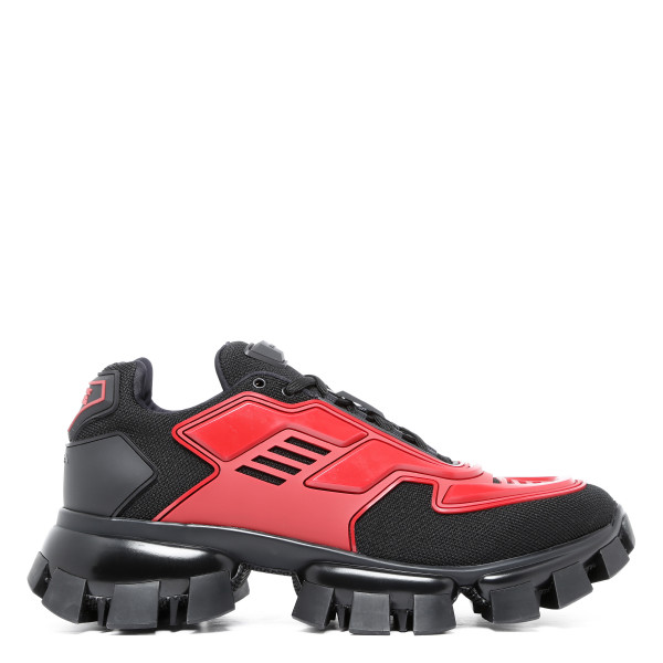 Black and red Cloudbust Thunder sneakers