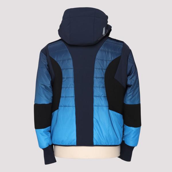 e6a9cda4800 Faded navy blue down jacket