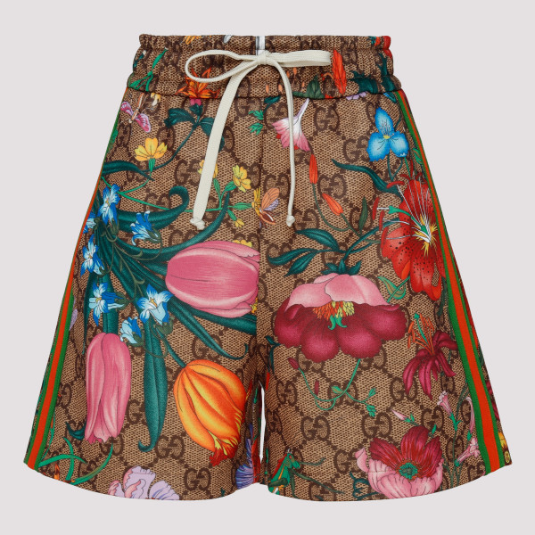 GG Flora pint shorts