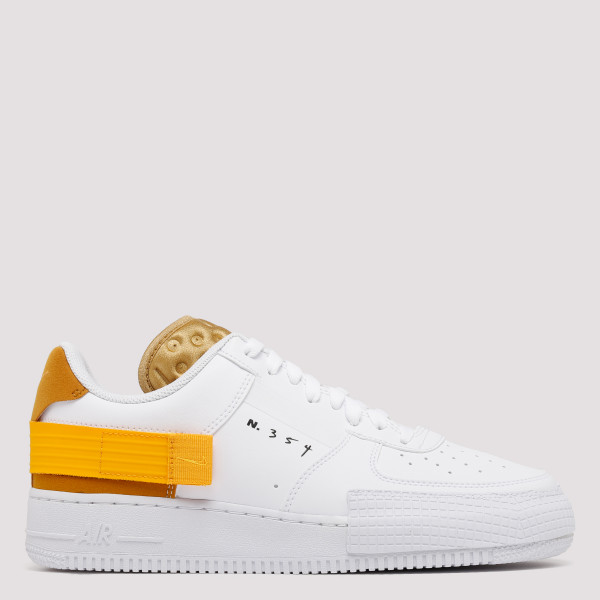 White and yellow AF1-Type...