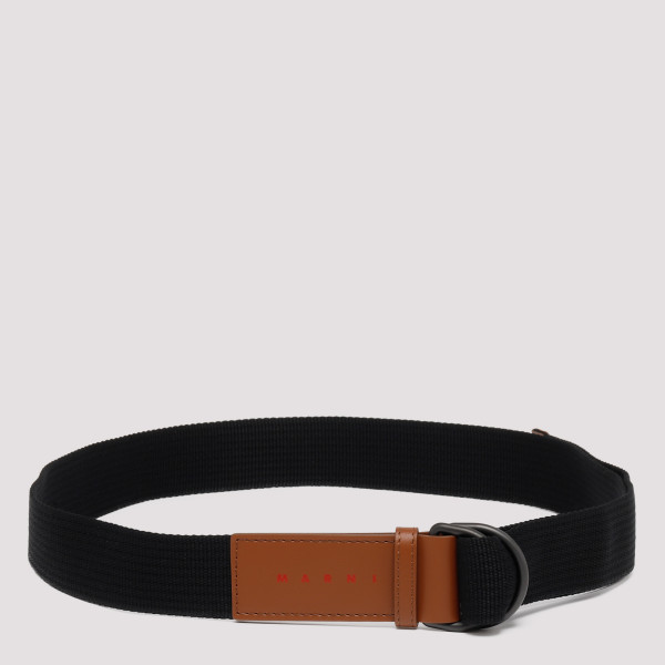 Logo patch belt