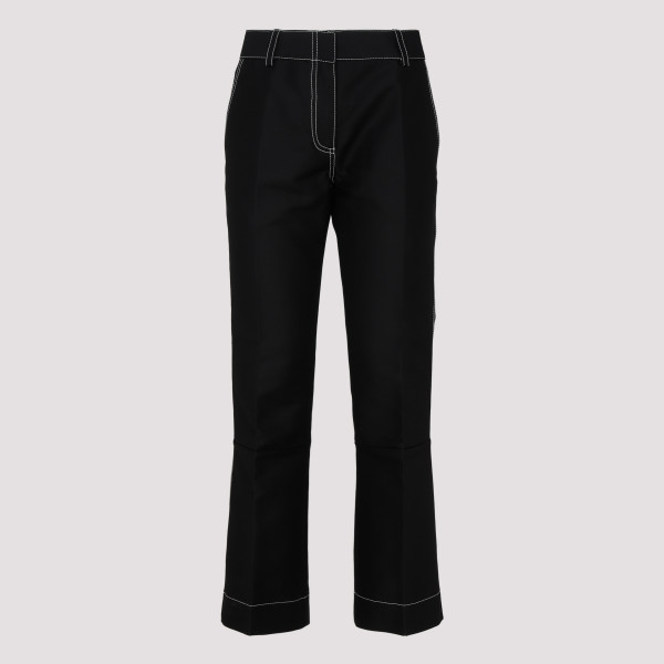 Contrasting stitching pants