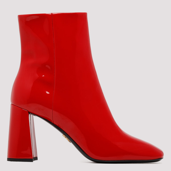 Red Reflective Boots