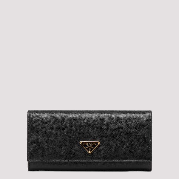 Black logo wallet