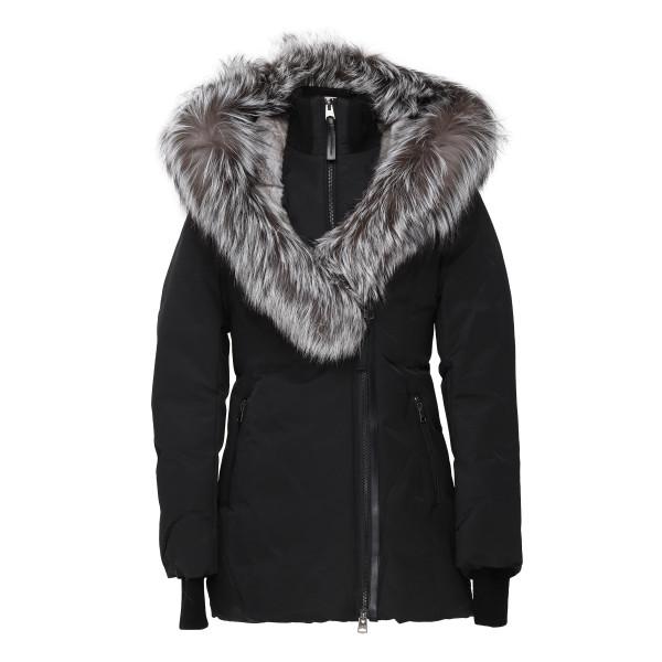 Priya-X black down jacket