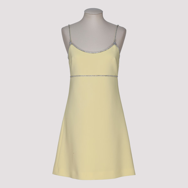 Yellow Faille Cady Dress