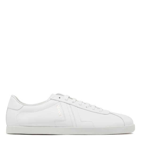 White leather JL Sneakers