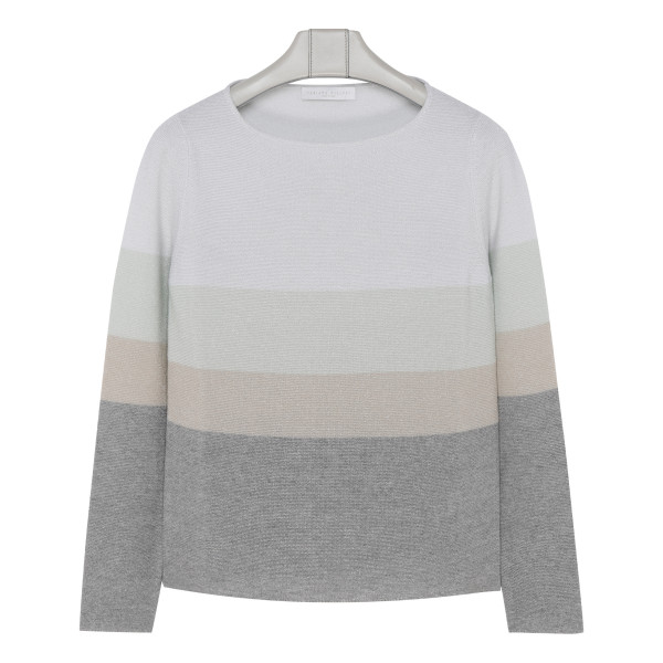 Wool, cotton and cashmere Pullover