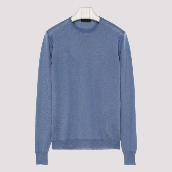 Soft cashmere crew-neck...