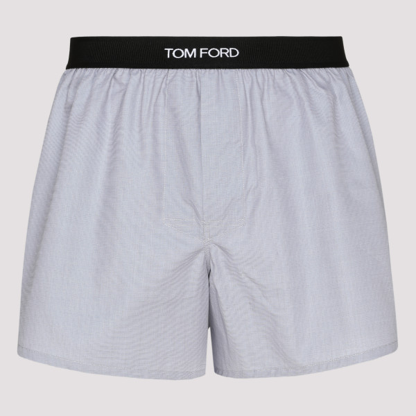 Light gray cotton boxer