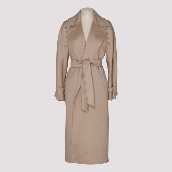 Agar camel and cashmere coat